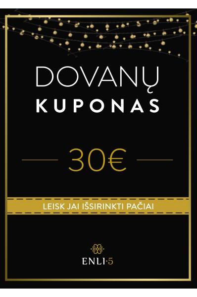 30€ Dovanų kuponas