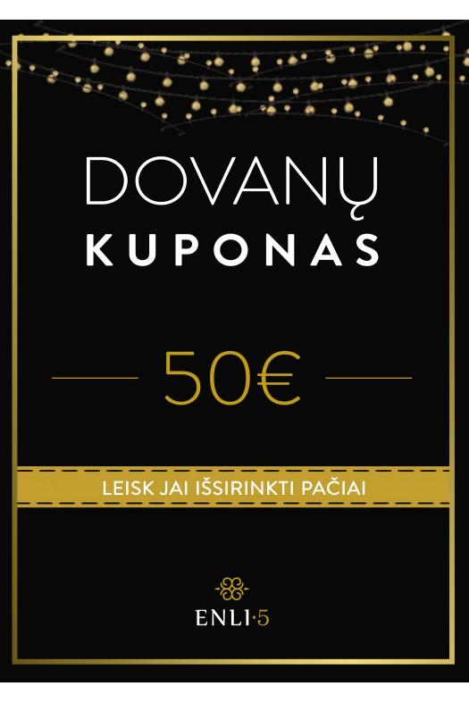 50€ Dovanų kuponas
