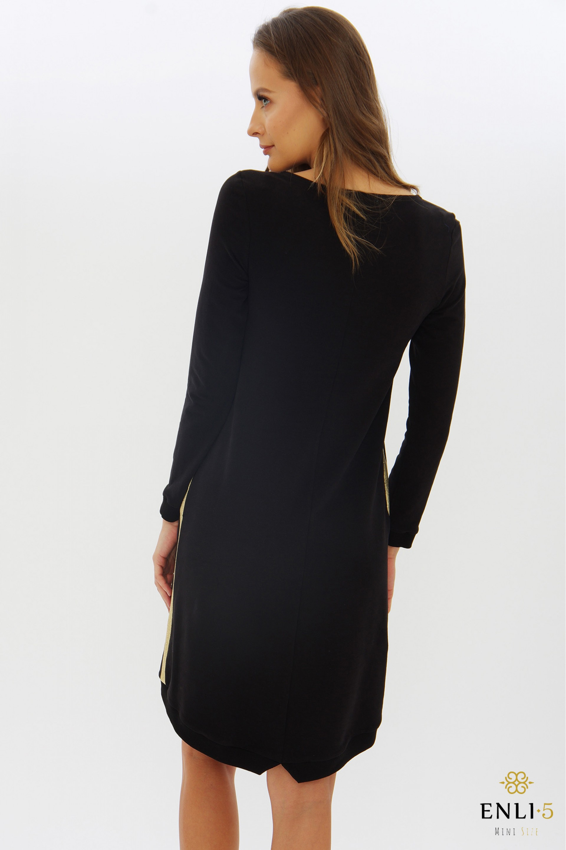 Juoda sportinė suknelė BAGIRA