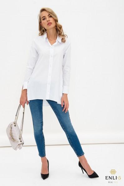 Balti, ploni, platėjantys marškiniai