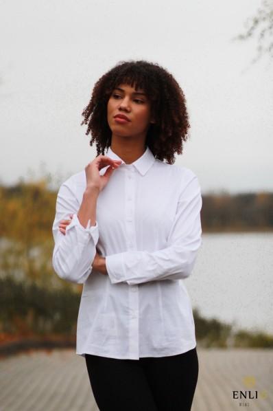 Balti klasikiniai marškinukai CRIS