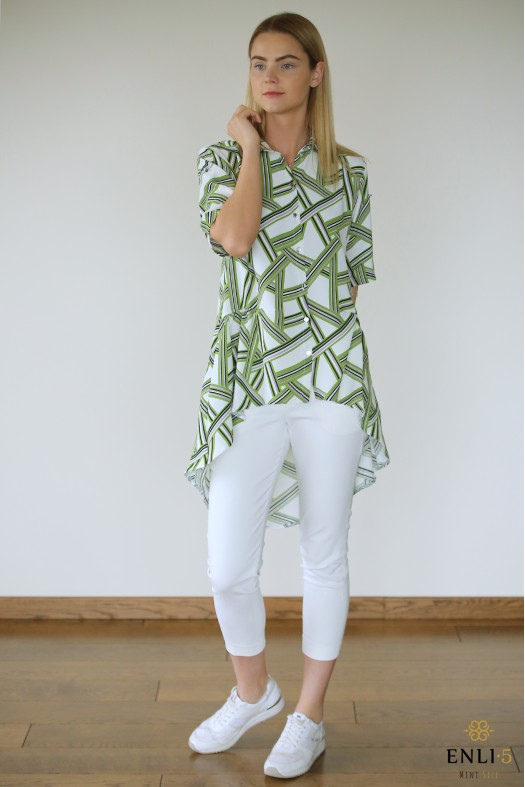 Baltos spalvos marškinukai FANTAZY