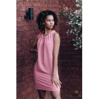 Plytų spalvos suknelė FYFA | Trumpa suknelė