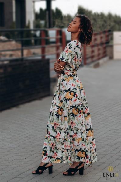 Ilga vasarinė suknelė IEVA