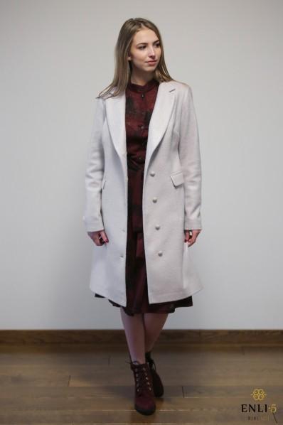 Kreminės spalvos paltukas KELY