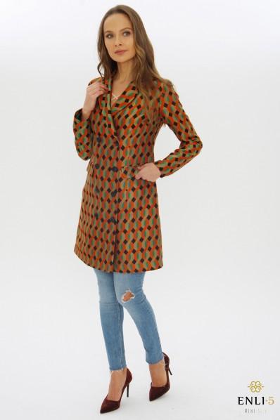 Margas paltas | Ilgas švarkas