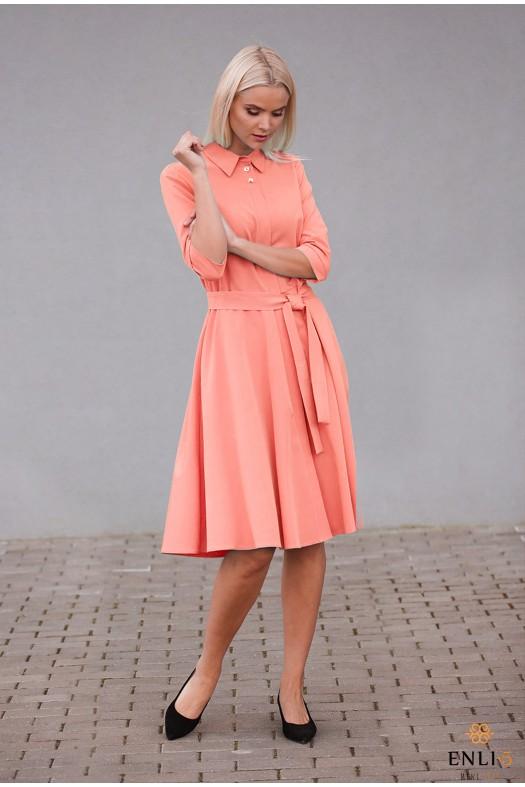 Persiko spalvos suknelė ESTERA