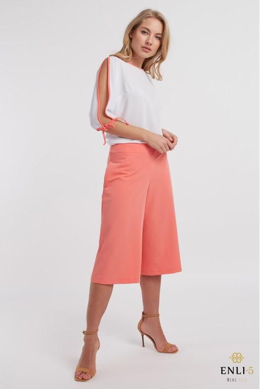 Persiko spalvos sijonas - kelnės | Sijonkelnės