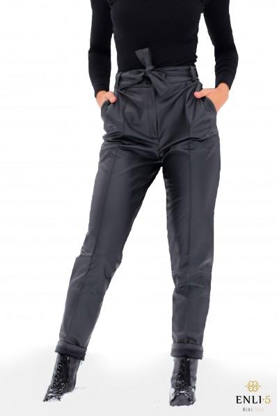 Juodos odinės kelnės REDONA
