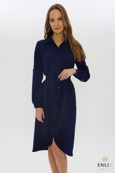 Mėlyna marškinių tipo suknelė ATĖNĖ
