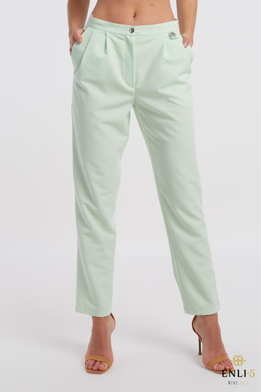 Žalios klasikinės kelnės | Salotinės kelnės